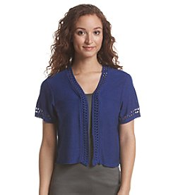 Relativity® Short Sleeve Shrug