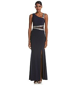 Decode 1.8 Slitted Embellished Gown