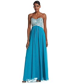 Decode 1.8 Jeweled Chiffon Gown