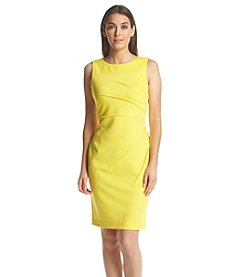 Calvin Klein Starburst Sheath Scuba Dress