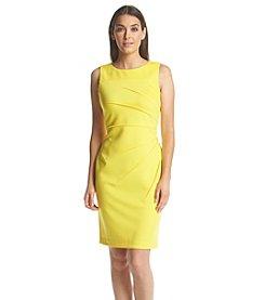 Calvin Klein Starburst Sheath Scuba Dress