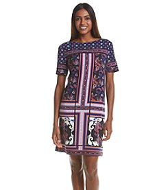 Adrianna Papell® Printed Tee Shirt Dress