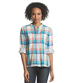 Vintage America Blues™ Plaid Relaxed Fit Top