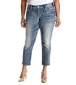 Silver Jeans Co. Plus Size Suki Boyfriend Jeans