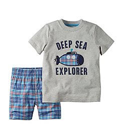 Carter's® Boys' 2T-7 2-Piece Deep Sea Explorer Set
