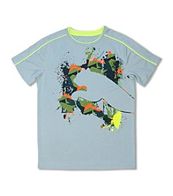 PUMA® Boys' 8-20 Short Sleeve Shadow Cat Tee