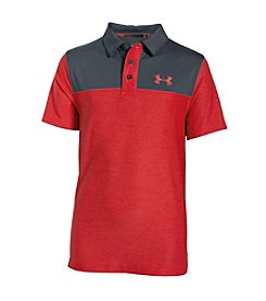 Under Armour® Boys' 8-20 Short Sleeve UA Match Play Blocked Polo