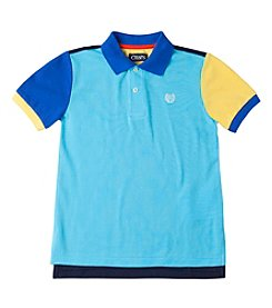 Chaps® Boys' 2T-7 Short Sleeve Colorblock Polo