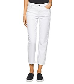Calvin Klein Jeans Cropped Straight Jeans