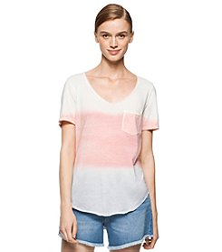 Calvin Klein Jeans Sprayed Dip Dye Tee