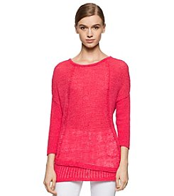 Calvin Klein Jeans Tape Yarn Texture Sweater