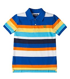 Chaps® Boys' 2T-20 Short Sleeve Striped Polo