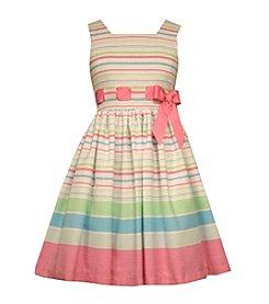 Bonnie Jean® Girls' 2T-16 Sleeveless Striped Dress