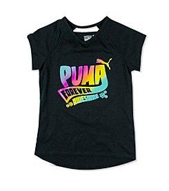 PUMA® Girls' 7-16 Short Sleeve