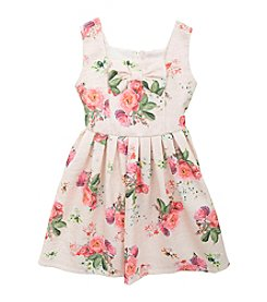 Rare Editions® Girls' 2T-6X Floral Dress