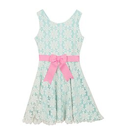 Rare Editions® Girls' 7-16 Floral Lace Dress