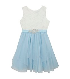 Rare Editions® Girls' 7-16 Snowflake Dress