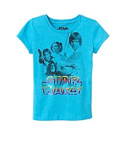 Disney™ Girls' 7-16 Short Sleeve Star Wars™ Tee