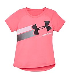Under Armour® Baby Girls' Fly By Logo Tee