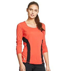 Lauren Active® Color-Blocked Active Top