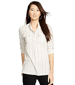 Lauren Jeans Co.® Striped Cotton Tunic