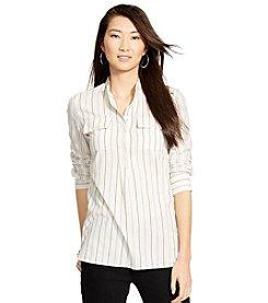 Lauren Jeans Co.® Striped Cotton Tunic