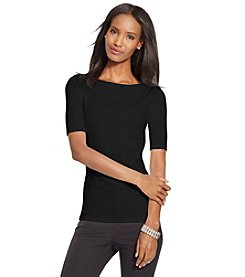Lauren Ralph Lauren® Stretch Cotton Tee