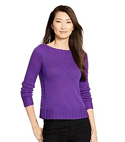 Lauren Ralph Lauren® Bateau-Neck Sweater