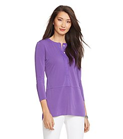 Lauren Ralph Lauren® Elongated Jersey Top