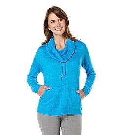 Rafaella® Solid Cowlneck Sweater