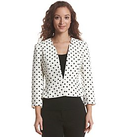 Nine West® Polka Dot Print Jacket
