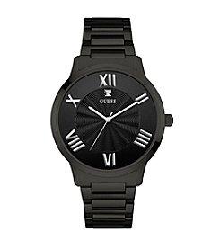 Guess Men's Black Tone Watch