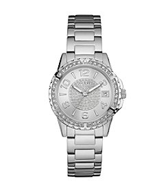Guess Women's Silvertone Sport Watch
