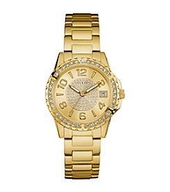 Guess Women's Goldtone Sport Watch