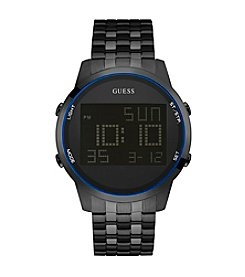 Guess Men's Black Digital Chronograph Watch