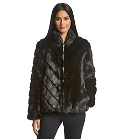 Ellen Tracy® Faux Fur Coat