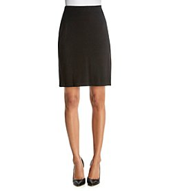 Karen Kane® Solid Strech Pencil Skirt