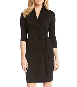 Karen Kane® Cascade Wrap Dress