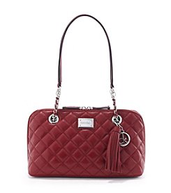 Calvin Klein Quilted Pebble Satchel