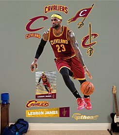 NBA® Cleveland Cavaliers LeBron James - No. 23 by Fathead®
