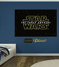 Star Wars™: The Force Awakens Title Card Wall Decals by Fathead®
