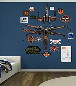 Star Wars™: The Force Awakens Poe's X-Wing Fighter by Fathead®