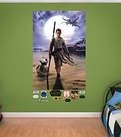 Star Wars™: The Force Awakens Rey Mural by Fathead®