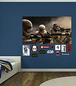 Star Wars™: The Force Awakens Stormtrooper Battle Mural by Fathead®