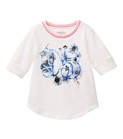 OshKosh B'Gosh® Girls' 2T-6X Baseball Tee