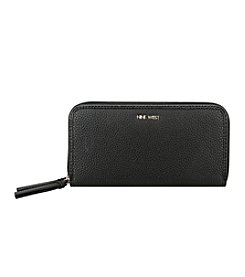 Nine West® Table Treasures Double Zip Around Wallet
