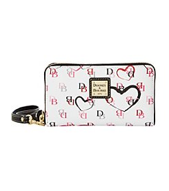 Dooney & Bourke® Zip Around Credit Card Phone Wristlet