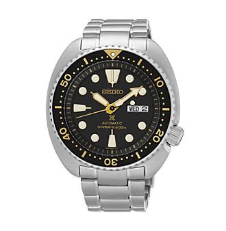 silvertone automatic diver watch