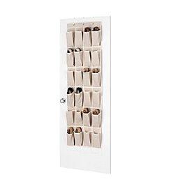 Whitmor® Linen Over-The-Door Shoe Organizer