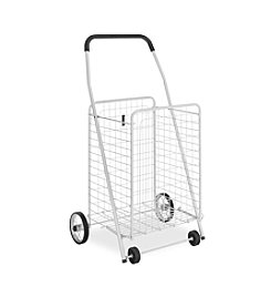 Whitmor® White Rolling Utility Cart